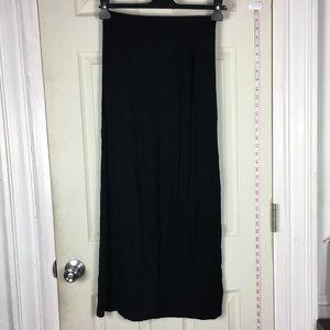❤️5/25$❤️Maxi Black skirt stretchy M /L